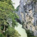 Aareschlucht or the Aare Gorge