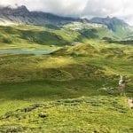 Hiking along the Via Alpina
