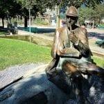 Sherlock Holmes pondering his fate in Meirengen