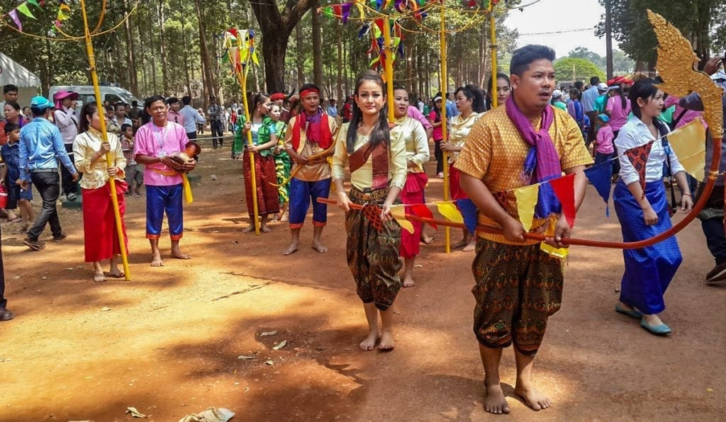 Khmer New Year Trot Dance with Kangcha, photo: Lyheng