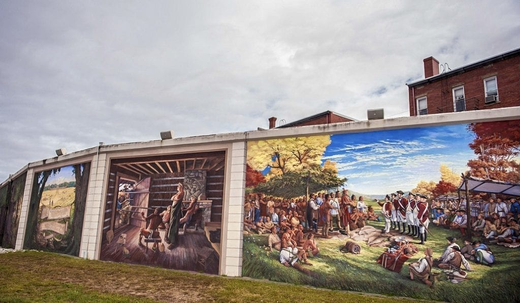 Point Pleasant river murals