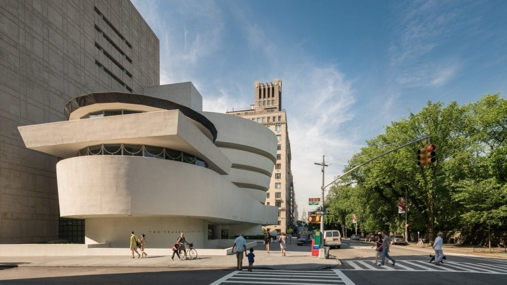 Solomon R. Guggenheim Museum, photo by David Heald (c) Solomon R. Guggenheim Foundation