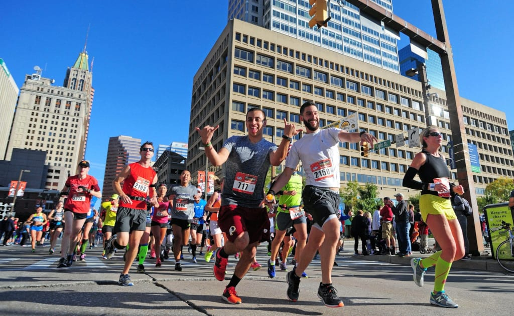 Festivals in Baltimore Running Festival