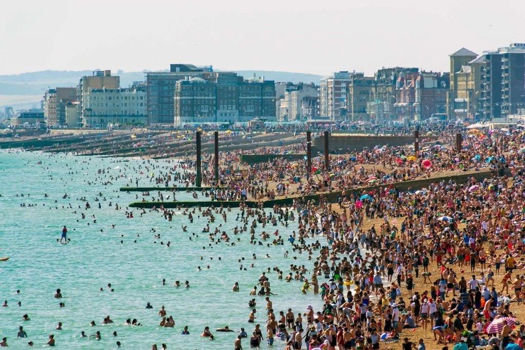 UK Record Temperature - Brighton