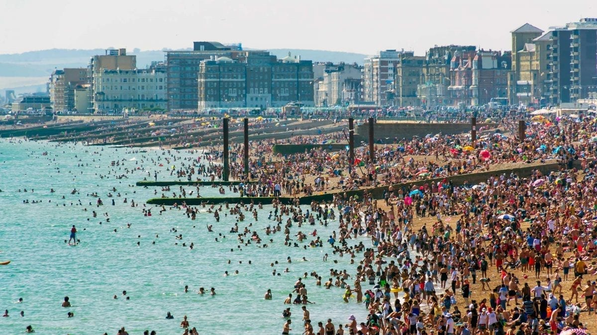 UK Record Temperature for August Bank Holiday