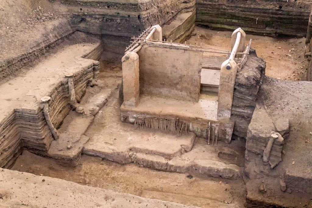 Joya de Ceren archaeological site, El Salvador