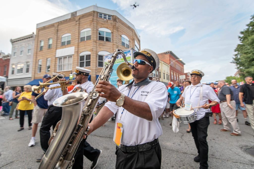 National Folk Festival in Salisbury MD- Tremé Brass Band
