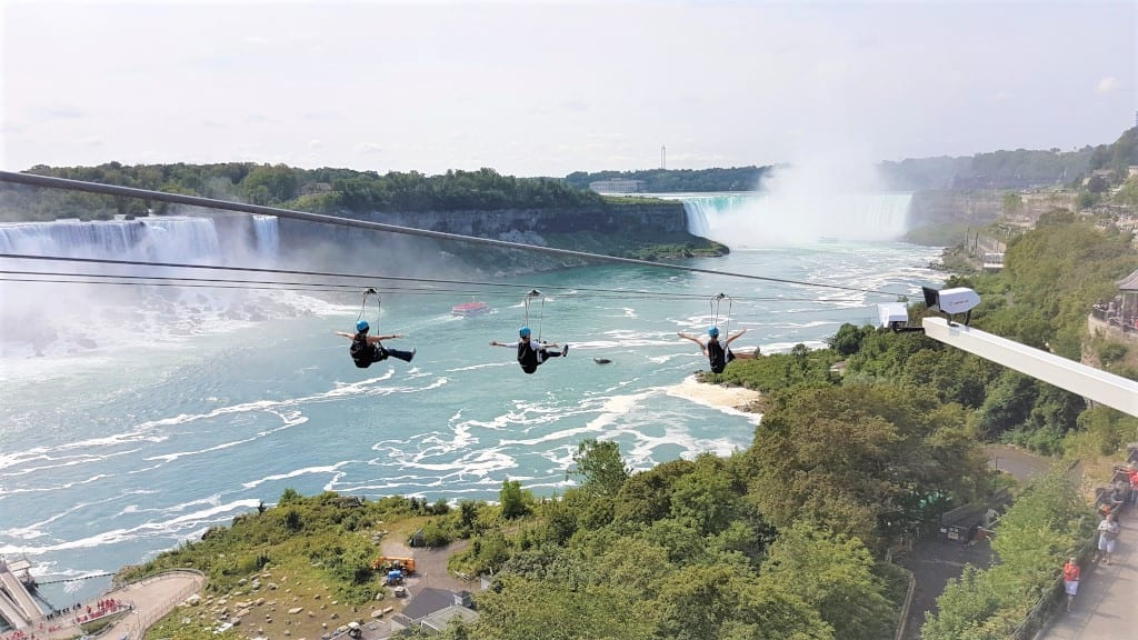 Niagara Falls Zipline - not for the faint of heart