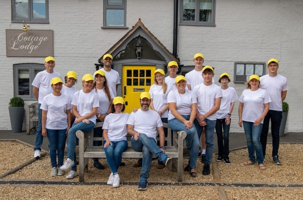 Cottage Lodge Owners Aim for 100% Sustainability