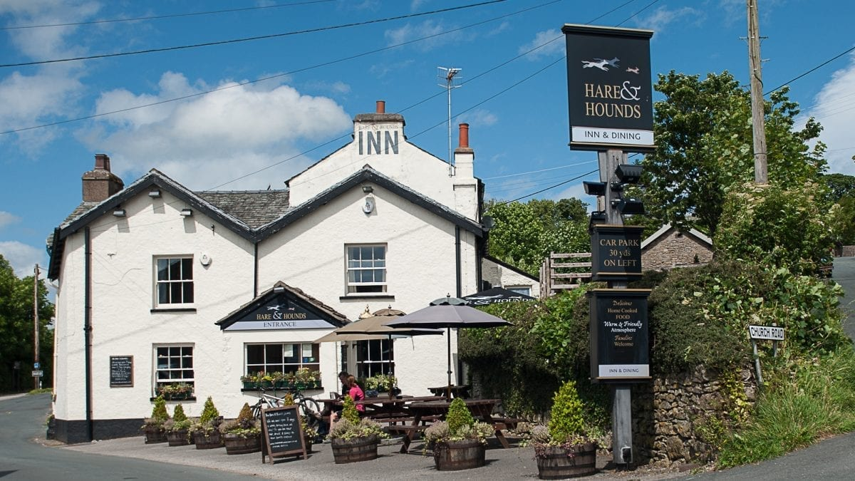 Escape to Hare and Hounds Cumbria for £70
