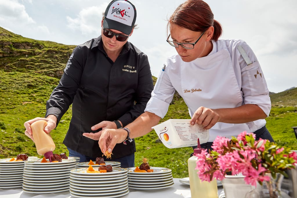 Dishing up a culinary treat for Jakobsweg (c) TVB Paznaun-Ischgl