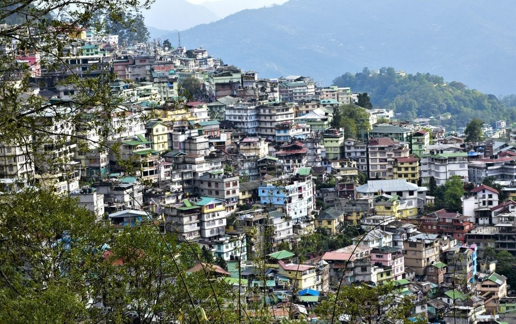 Sikkim villages in India