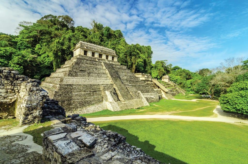 Ancient Mayan temples, Palenque