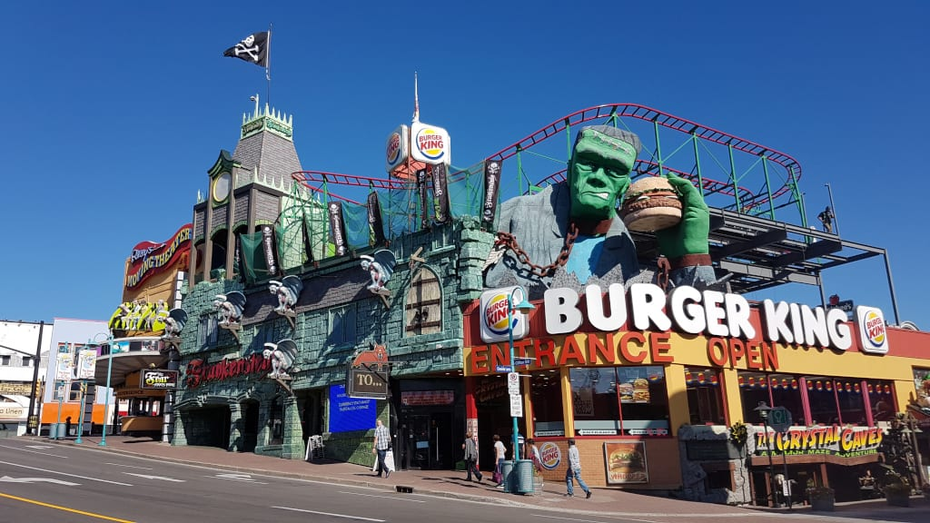 Frankenstein or Burger Kings - which is more scary?