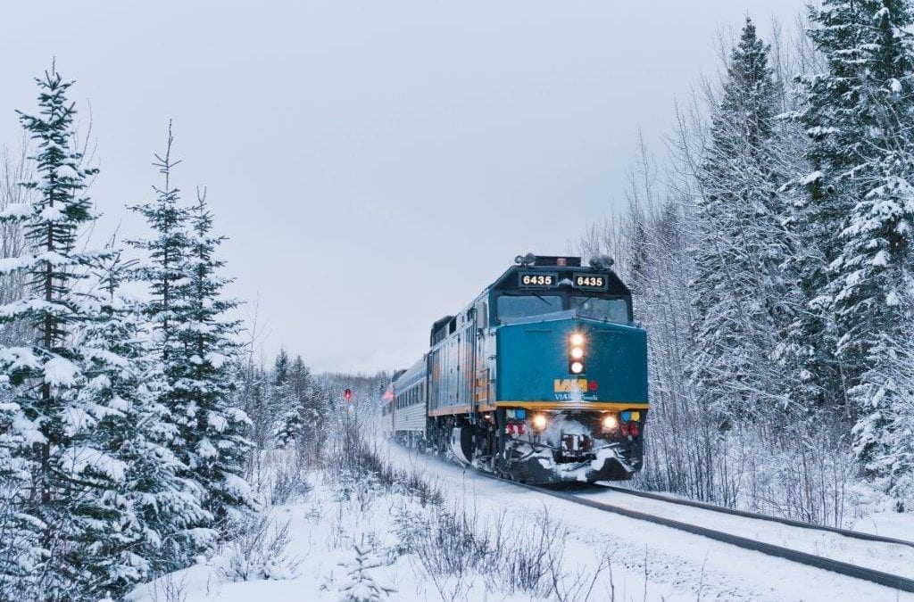 All Aboard the Canadian Snow Train