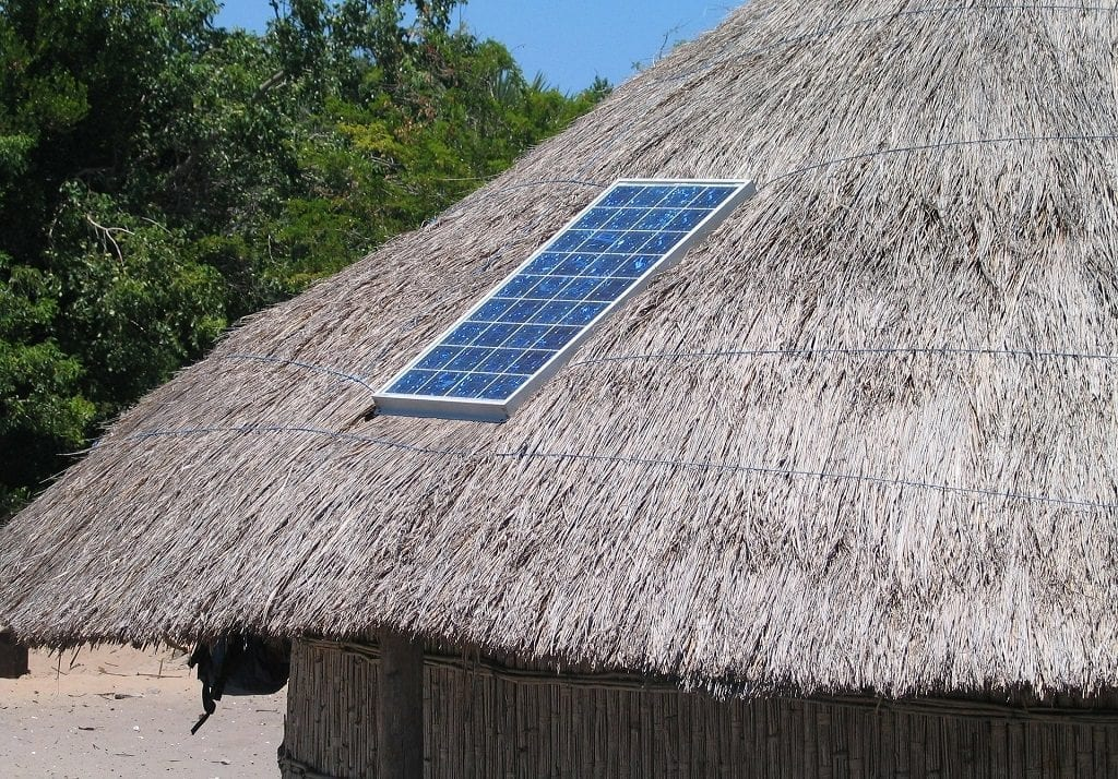 carbon offsetting - solar