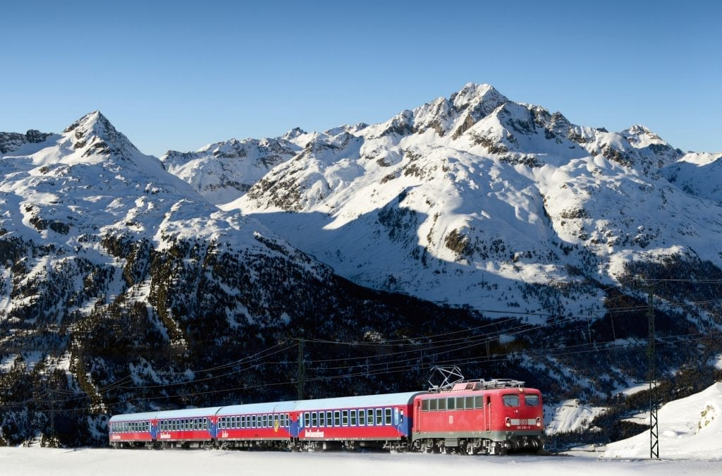 Reduce Carbon Footprint by Train to Austria