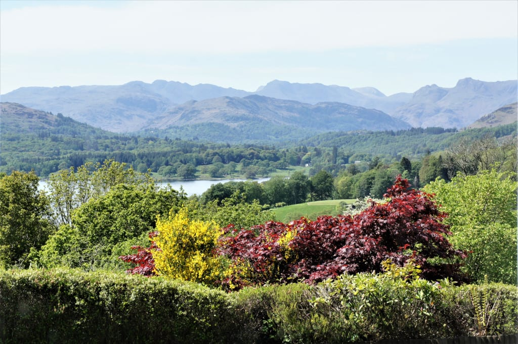 Beautiful views from Holbeck Ghyll Lake District