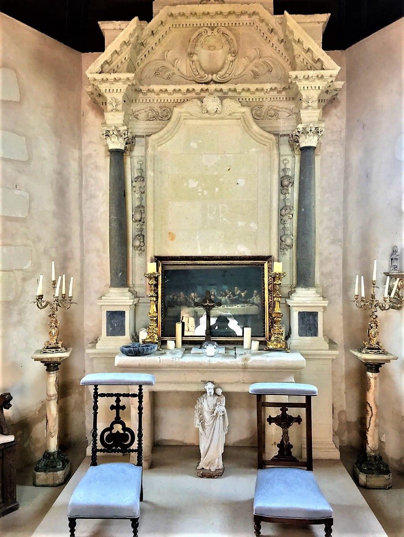Small chapel at Château de Noirieux