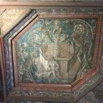 Loire Valley chateaux Graphic ceiling the Château du Plessis-Bourré