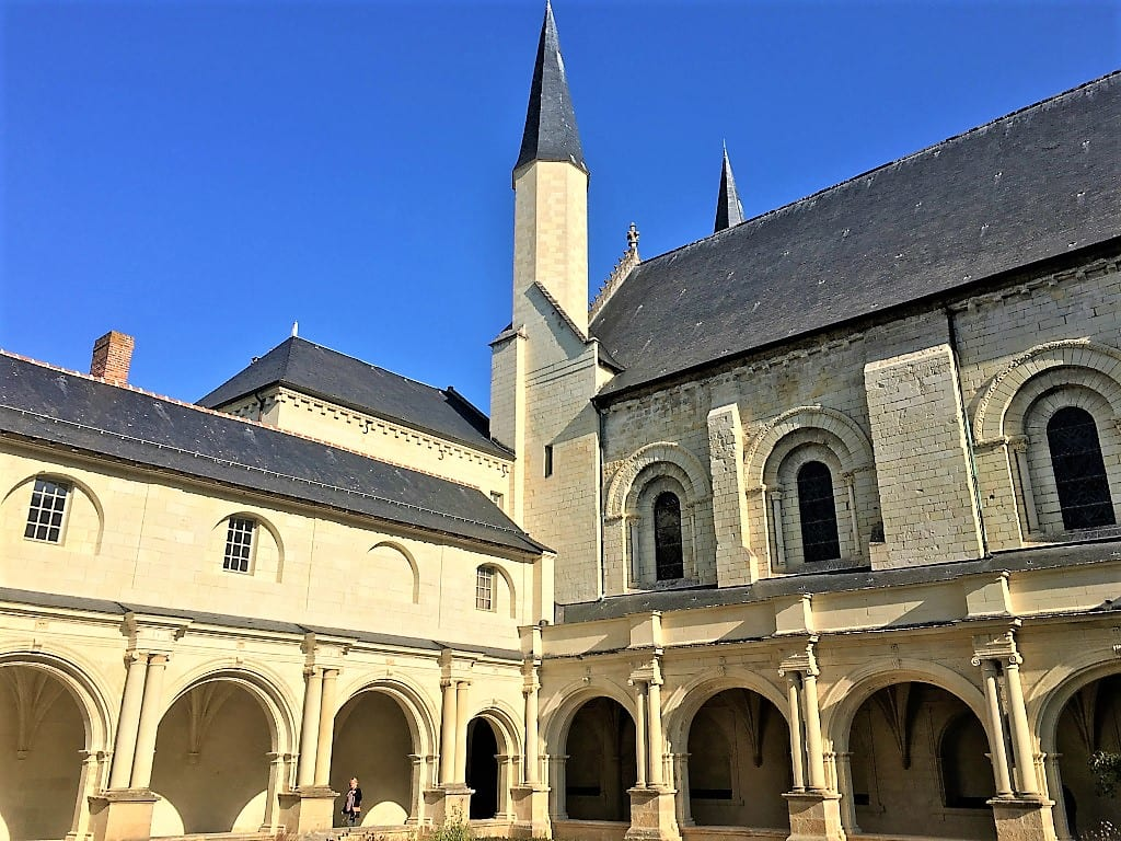 Fontevraud Abbey cloisters