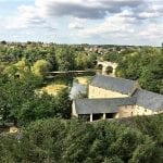 View from Château de Montreuil-Bellay