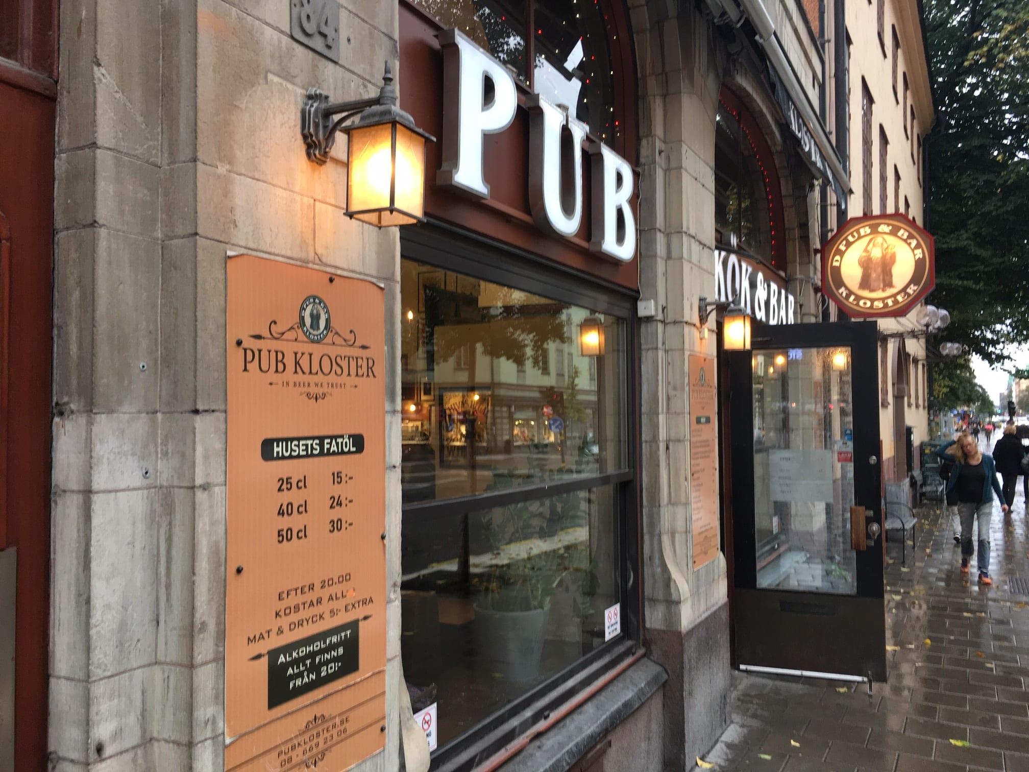 Pub Kloster Stockholm