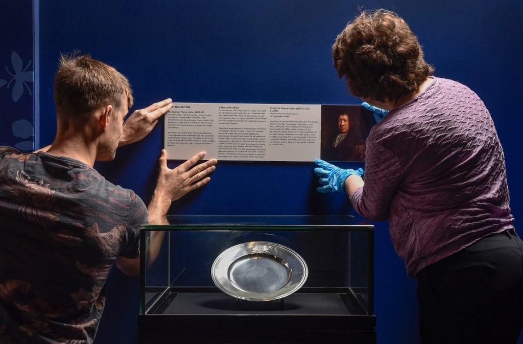 Samuel Pepys Silver Plate at Museum of London
