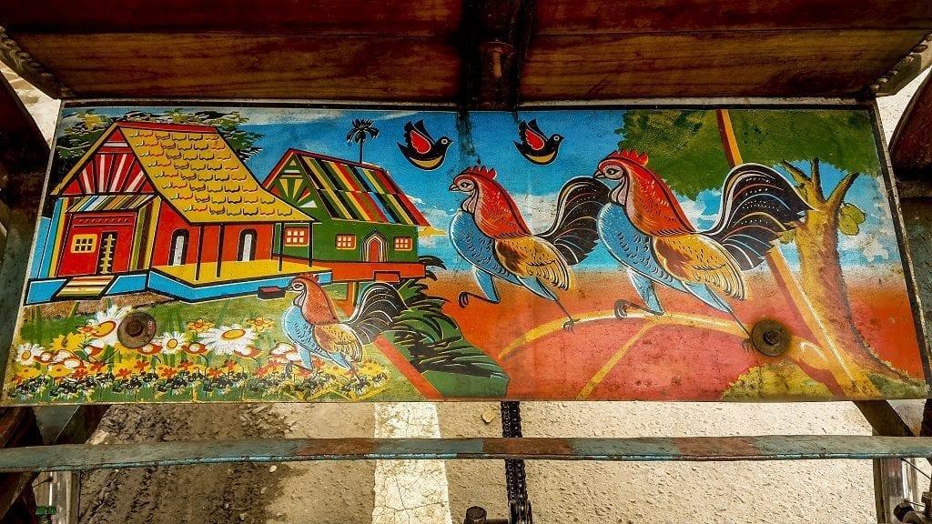 Rickshaw art in Bangladesh