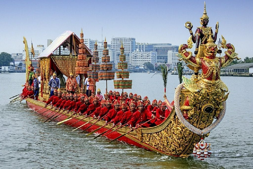 Royal Barge Procession, Thailand