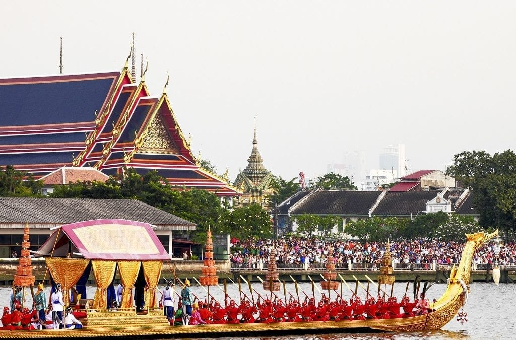 Royal Barge Procession Thailand Now in December