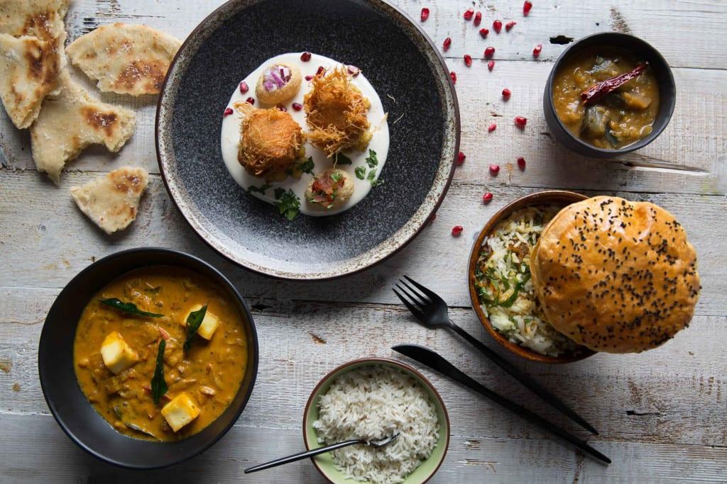 Keralan Tasting Menu Vegetarian