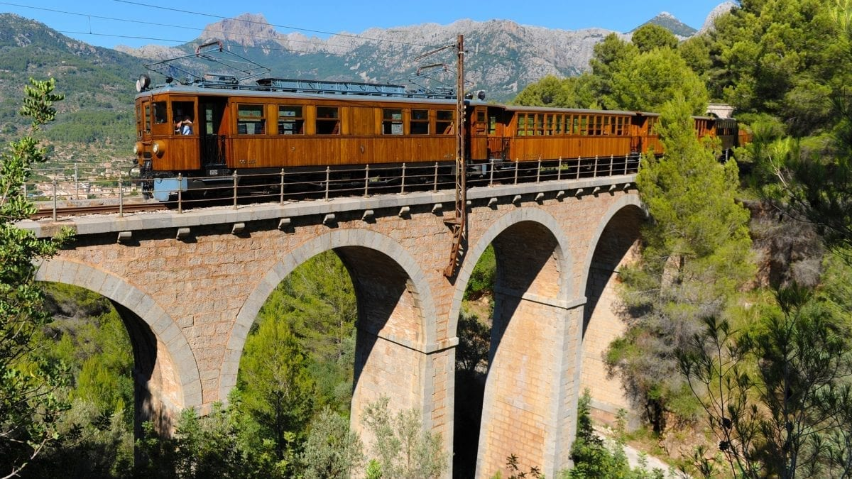 Springtime in Mallorca for Railway Enthusiasts
