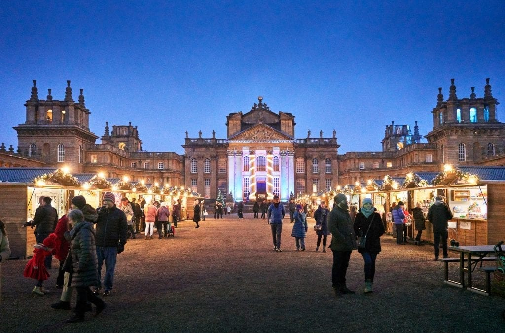 New Christmas Market at Blenheim Palace