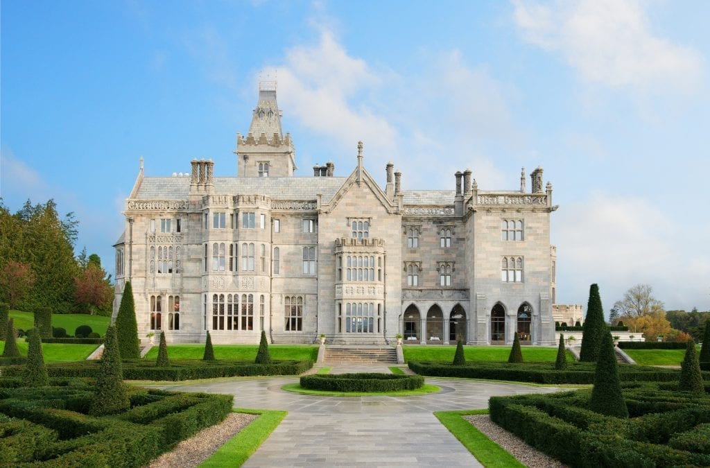 Adare Manor in Limerick Scoops Twin Awards