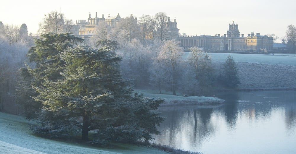 Winter at Blenheim Palace