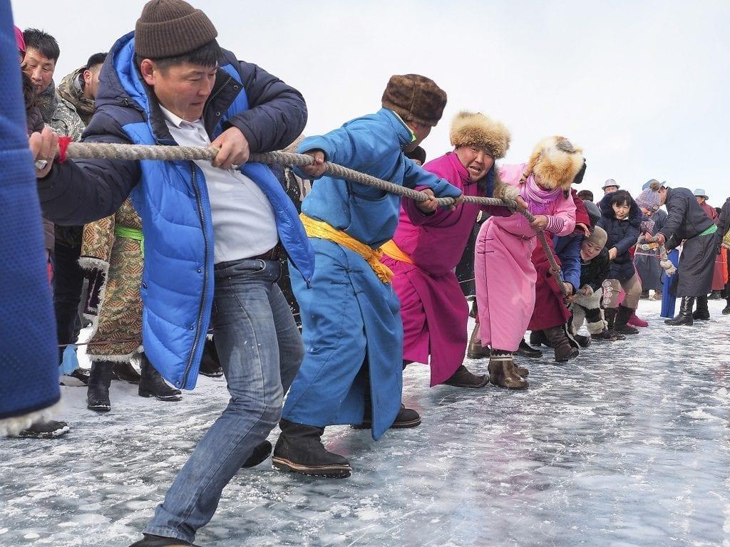 Khövsgöl Ice Festival, Mongolia