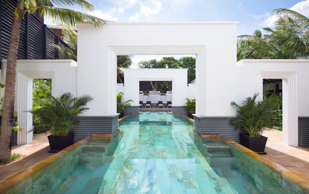 Park Hyatt Siem Reap salt water lap pool
