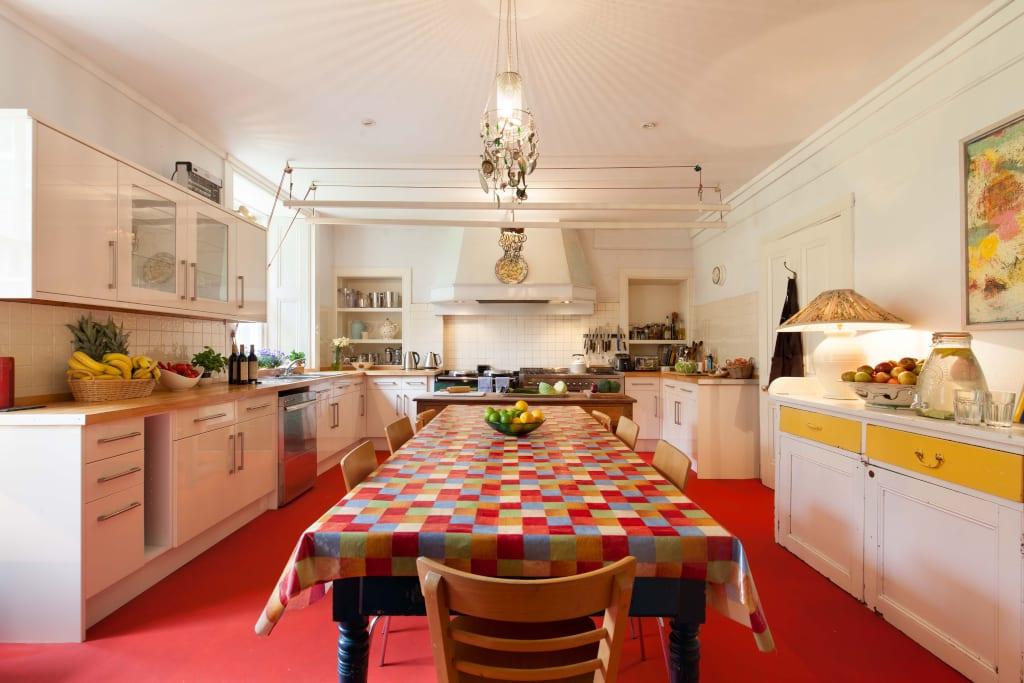 Eilean Shona House kitchen