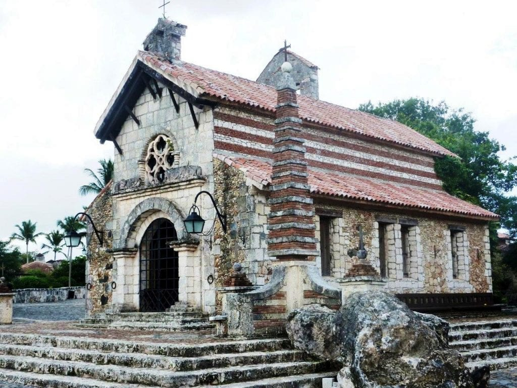 Altos de Chavon Church Dominican Republic