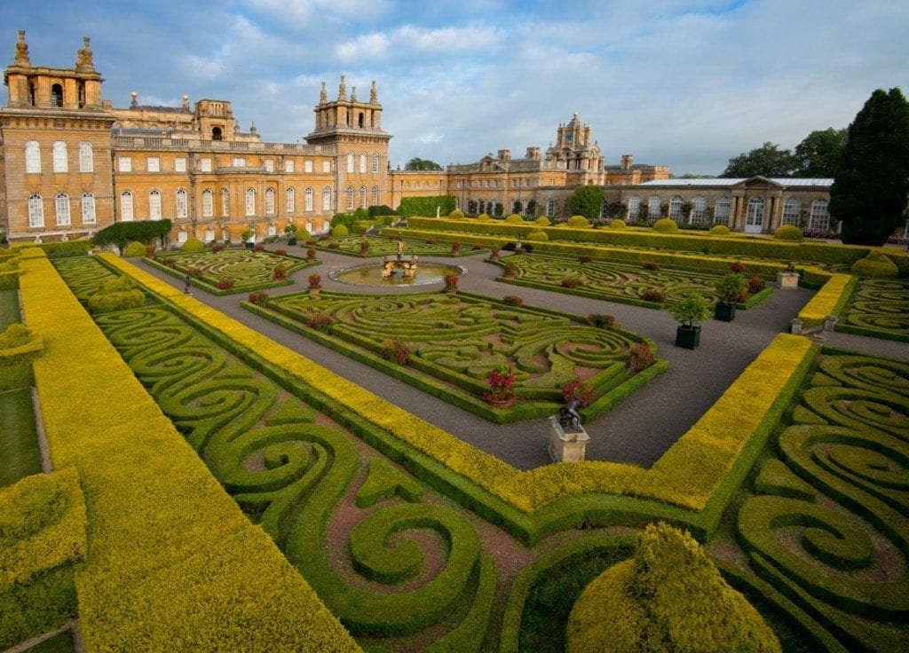 Italian Garden at Blenheim Palace