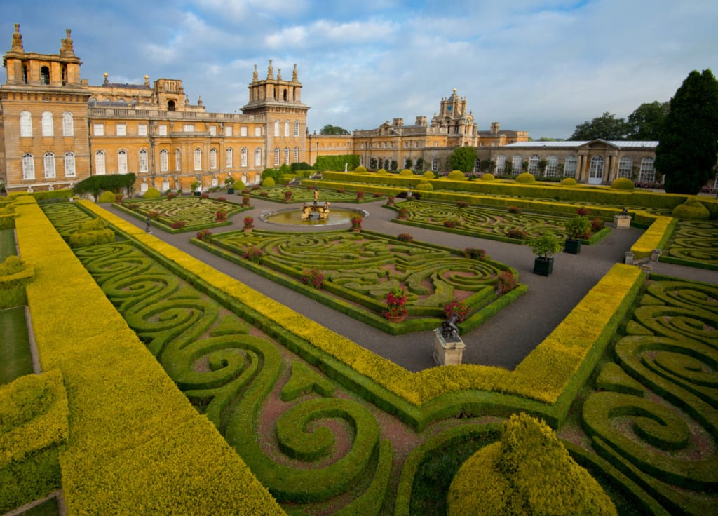Italian Garden at Blenheim Palace Awards for Excellence