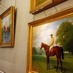 The Jockey Club has some of the finest equine paintings