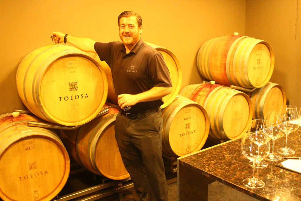 Justin Young Tolosa Winery
