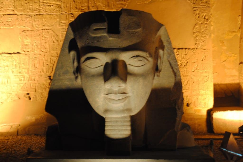 Ramses II at Luxor Temple