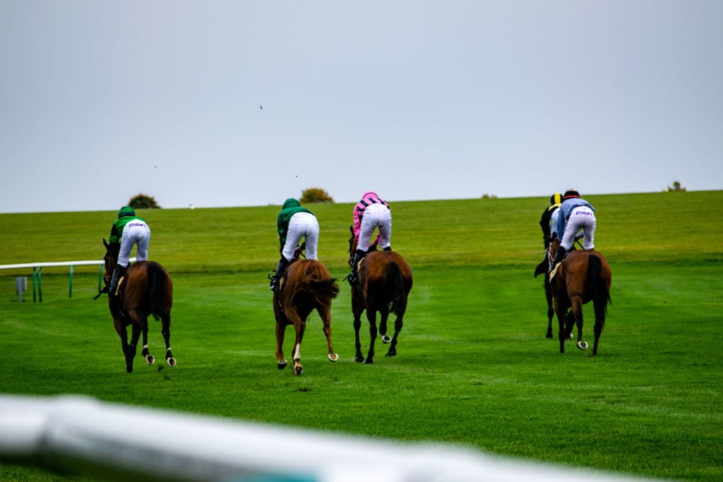 Rowley Mile part of the Newmarket Races
