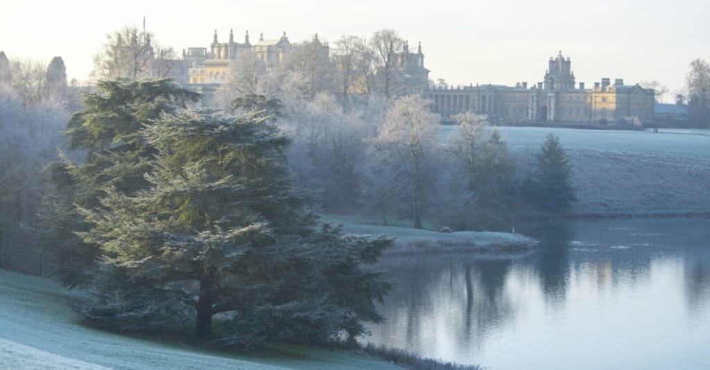Winter at Blenheim Palace