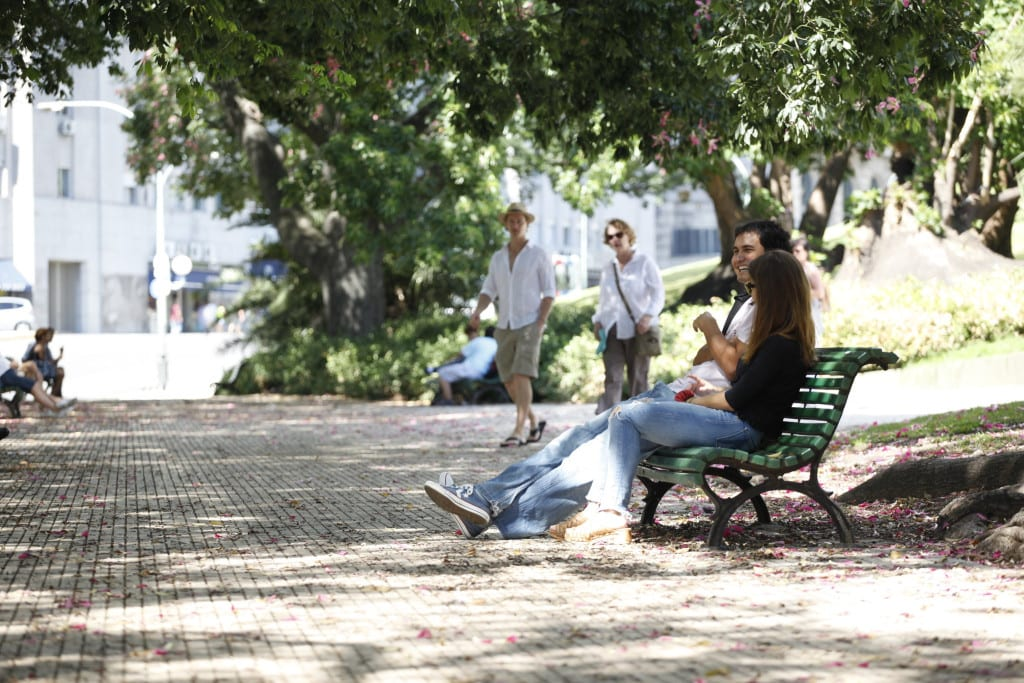 Take it easy in the Plaza San Martin, Buenos Aires
