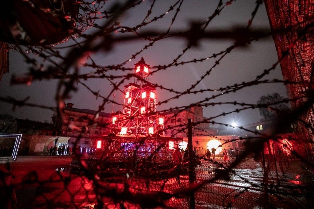 Alternative Christmas Yard Opens in Vilnius