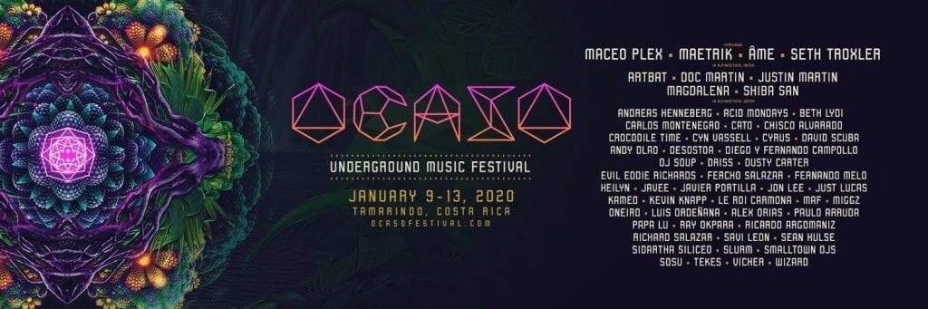 Ocaso Festival Costa Rica